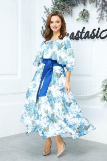 Anastasia 542 белый-синий