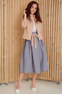 Мода Юрс 2400 бежевый-голубой