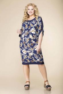 Romanovich Style 1-1080 синие_цветы