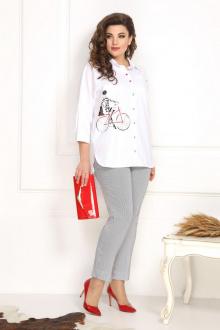 Solomeya Lux 793/449 белый+серый