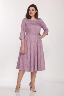 Lady Style Classic 1270/19 розовый_горошек