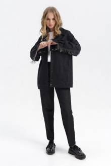 брюки,  куртка PiRS 2771 черный