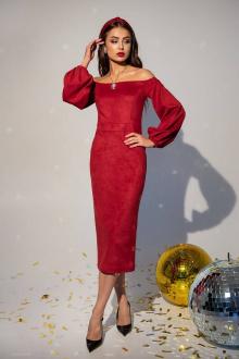 платье Daloria 1745 красный
