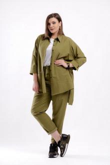 брюки GRATTO 3115 зеленый