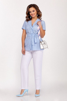 Dilana VIP 1710 белый-голубой