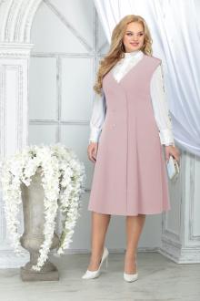 блуза,  сарафан Ninele 5826 пудра