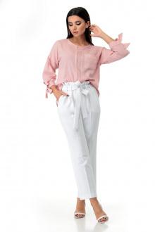 Мишель стиль 942 розово-белый