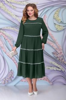 платье Ninele 7304 изумруд