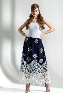 Diva 1291-1 синий+бел