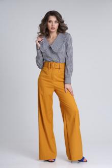 брюки SandyNa 13917 морковно-оранжевый