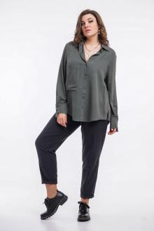 блуза GRATTO 4125 хаки