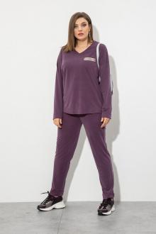 блуза,  брюки JeRusi 2106 слива