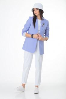 T&N 7019 голубой-белый