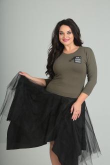 Andrea Style 0087 олива-черный