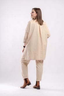 блуза GRATTO 4129 бежевый