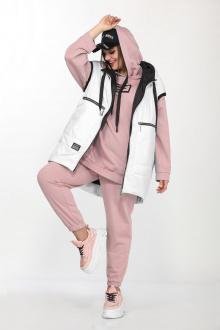 Lady Secret 4002 белый+розовый