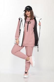 Lady Secret 4001 белый+розовый