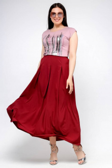 юбка La rouge 7041 бордо