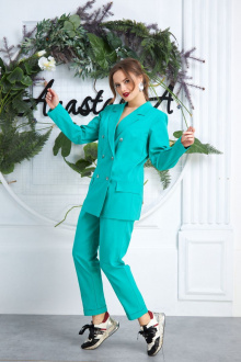 Anastasia 580 ярко-зеленый1