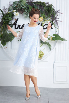 Anastasia 588 молочно-голубой