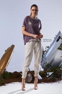 футболка Rami 2151 фиолетовый