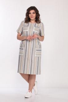 Lady Style Classic 2276 серый-полоска