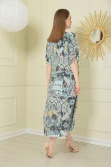 Платье TAiER 973 мультиколор