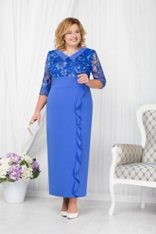 платье Ninele 7206 василек