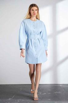 платье Vladini DR1101 небесный