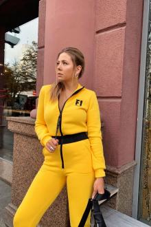 комбинезон Rawwwr clothing 037-начес желтый