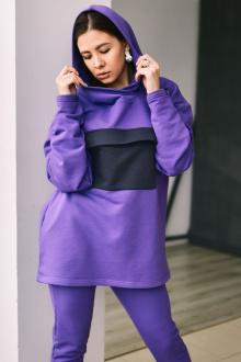 040-начес фиолетовый