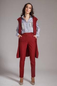 брюки AMORI 5044 вишня
