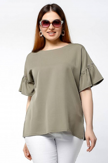 блуза La rouge 6184 хаки