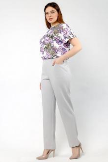 брюки La rouge 8011 серый