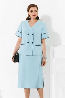 жакет,  юбка Lissana 4256 голубой