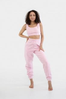 брюки Anli 078 розовый