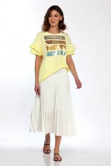 блуза ELLETTO LIFE 3475 желтый