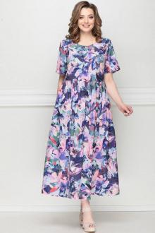 LeNata 13025 фиолетовые-цветы