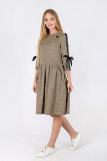Платье Daloria 1413 хаки