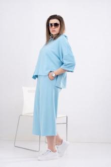 шорты, худи GRATTO 1113 голубой