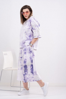 шорты, худи GRATTO 1113 фиолетовый