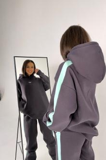 Брюки Rawwwr clothing 238 графит+мятный