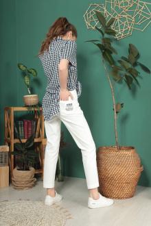 брюки TAiER 962 молочный