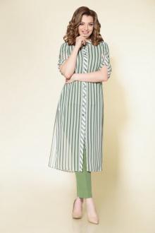блуза,  брюки,  кардиган DaLi 2553-тройка олива
