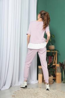 брюки,  свитшот TAiER 954 лаванда