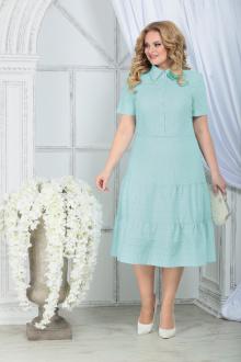 платье Ninele 7323 светло-зеленый