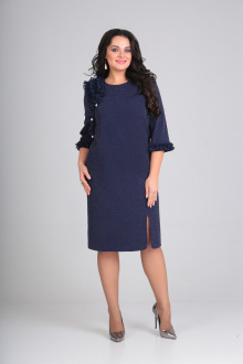 Andrea Style 00103 т.синий