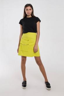юбка Madech 21169 лимонный