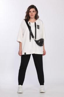 брюки,  джемпер Lady Secret 2751 черный+белый