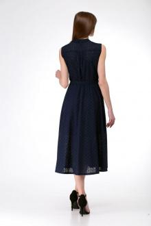 Платье AMORI 9529 синий